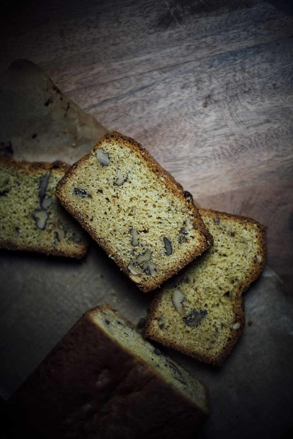 walnut ginger pound cake |A Brown Table