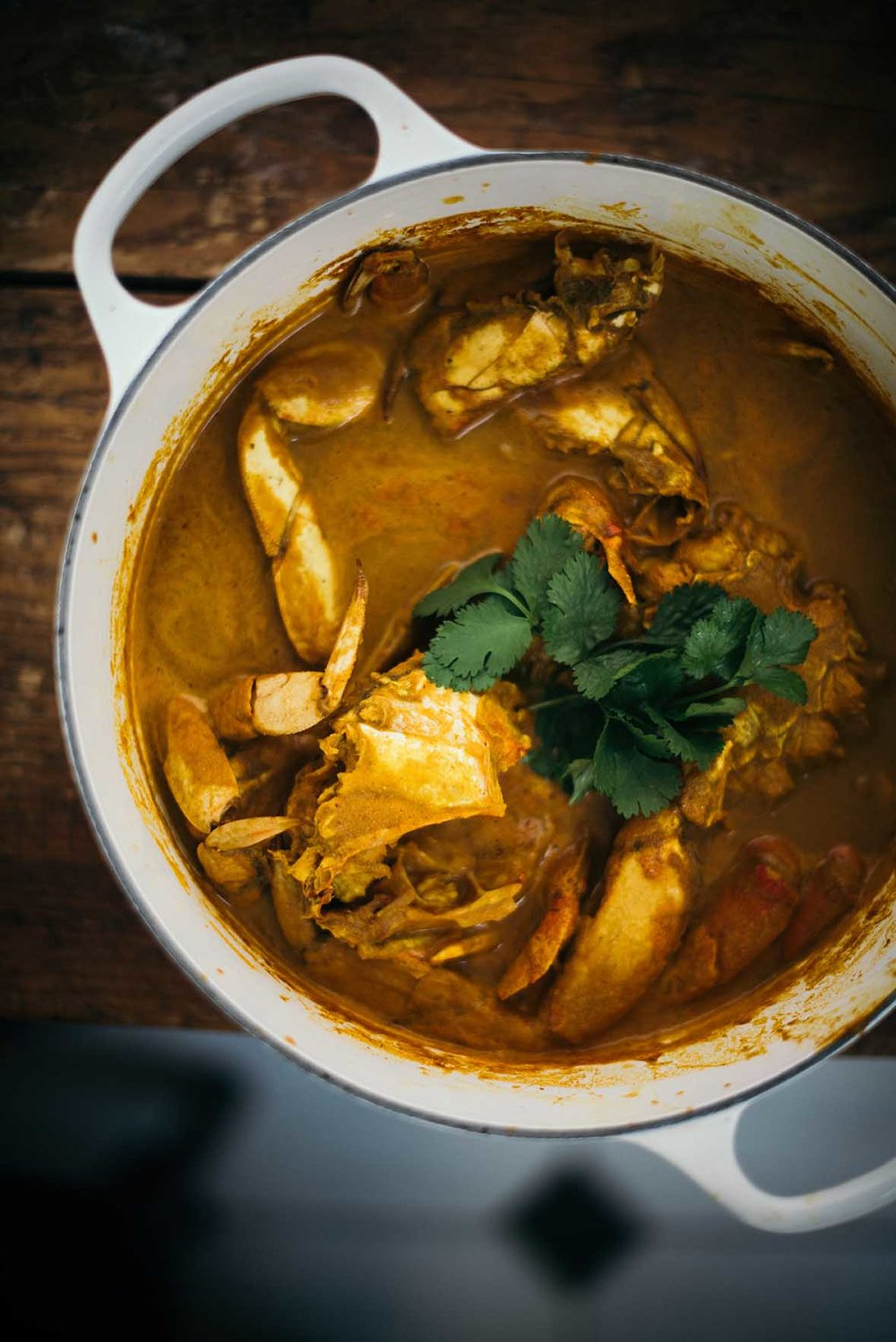 goan crab curry |A Brown Table