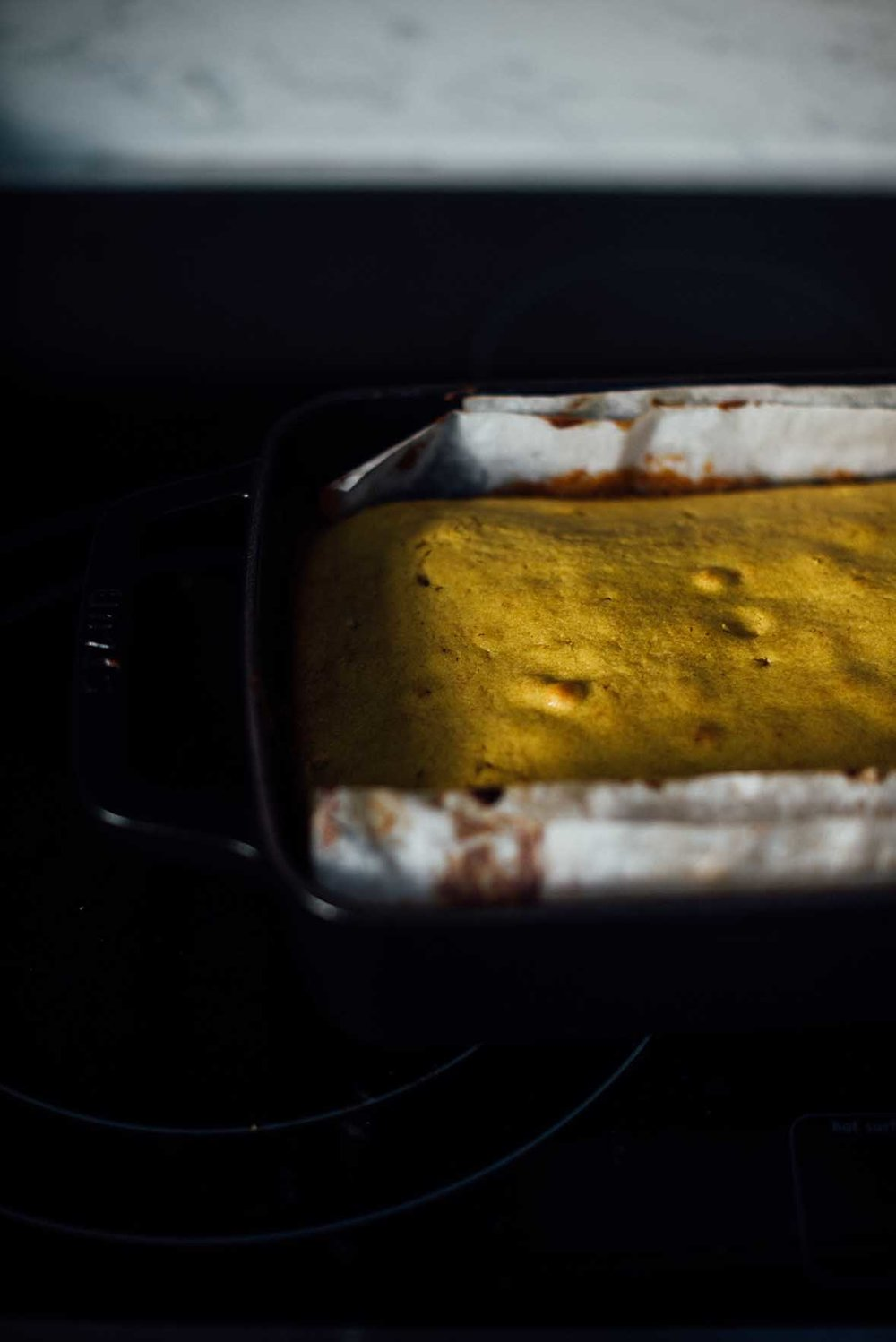 golden lemon and turmeric cake| A Brown Table