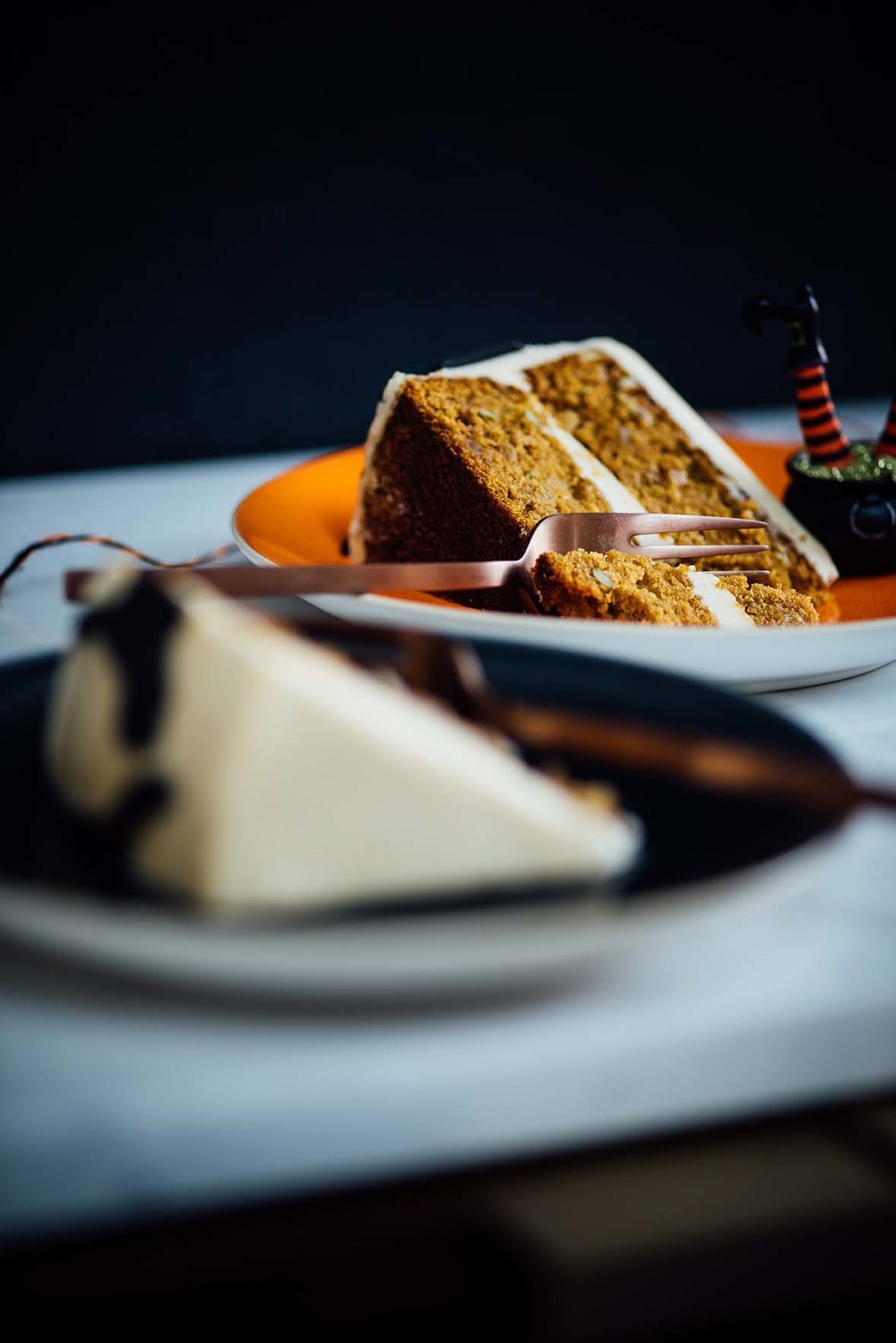 Masala Chai Pumpkin Cake for @WestElm | A Brown Table