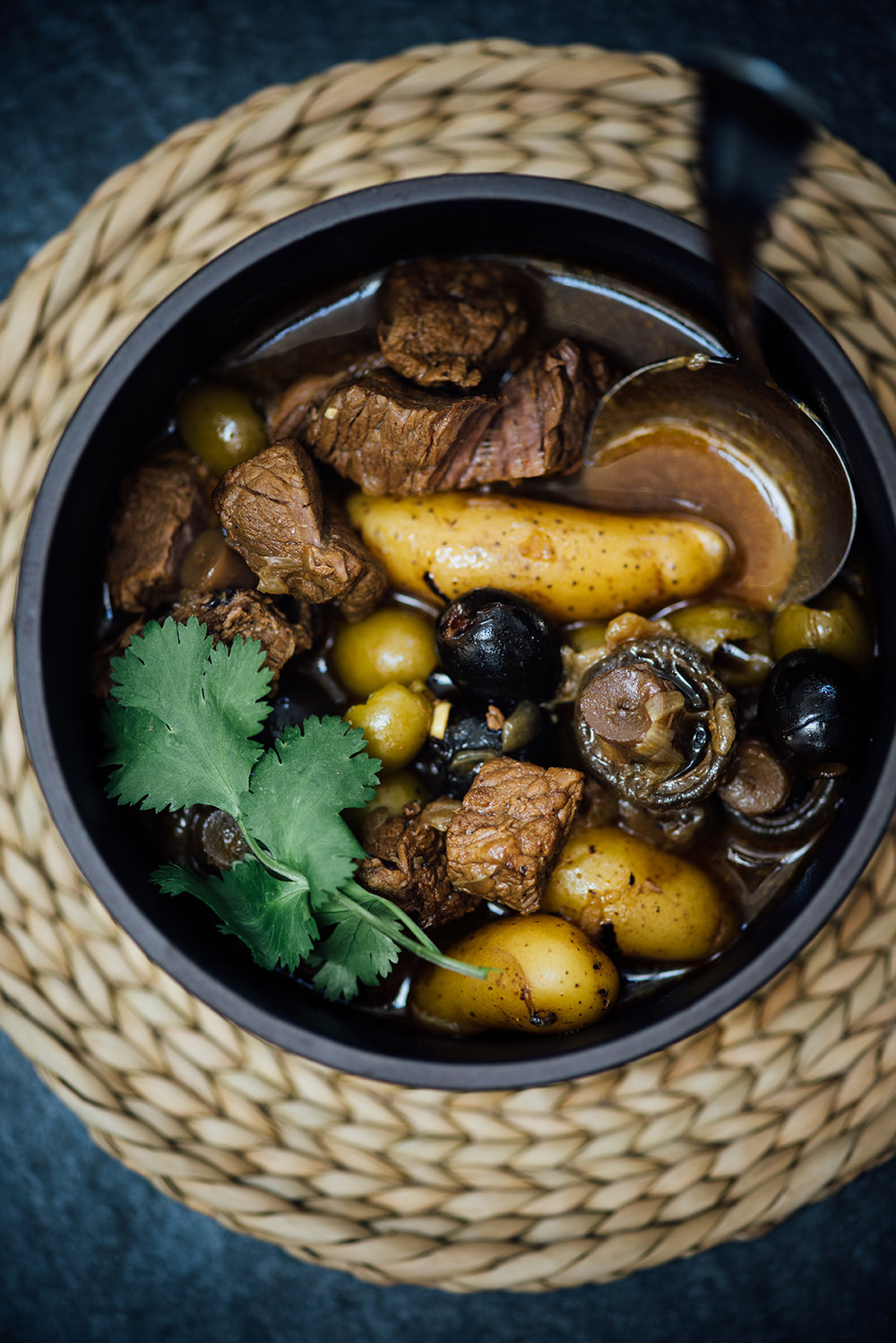 olive and beef stew | Nik Sharma