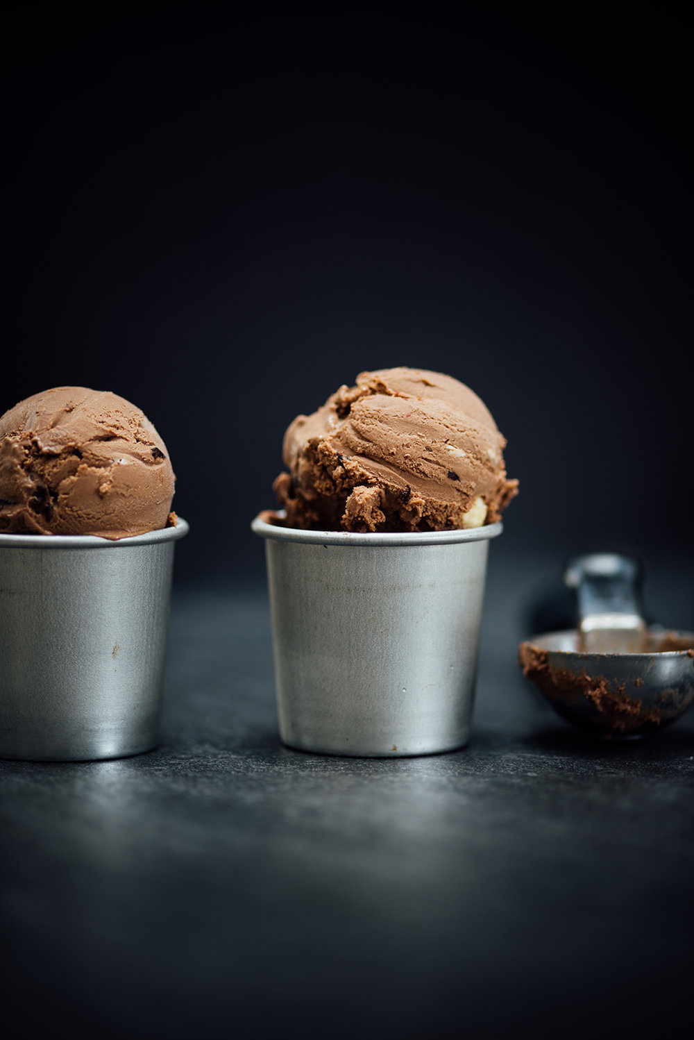spiced chocolate fruit and nut ice cream|Nik Sharma for Guittard Chocolate