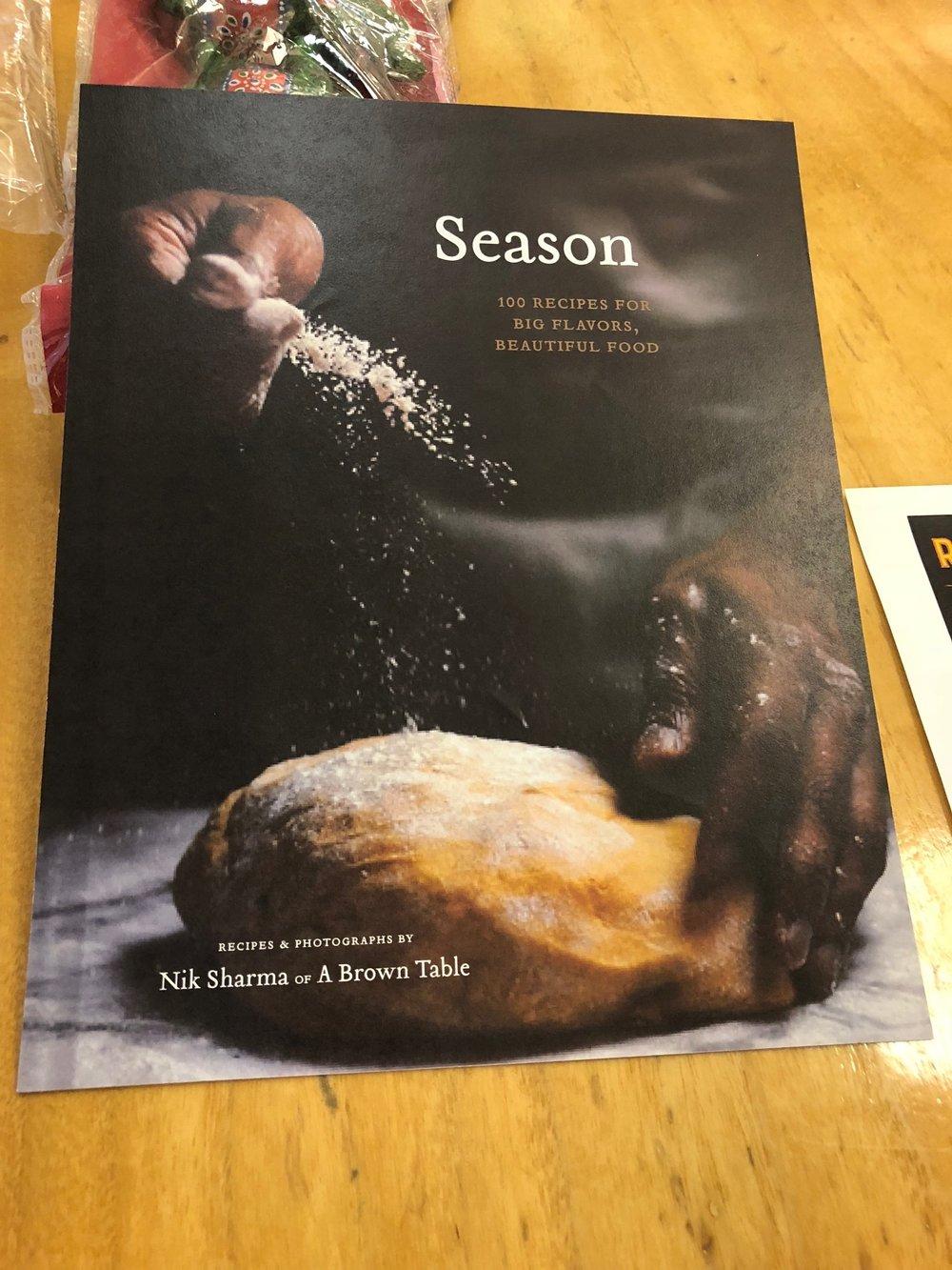 Season Cookbook Cover Design - The Book Diaries III | Nik Sharma