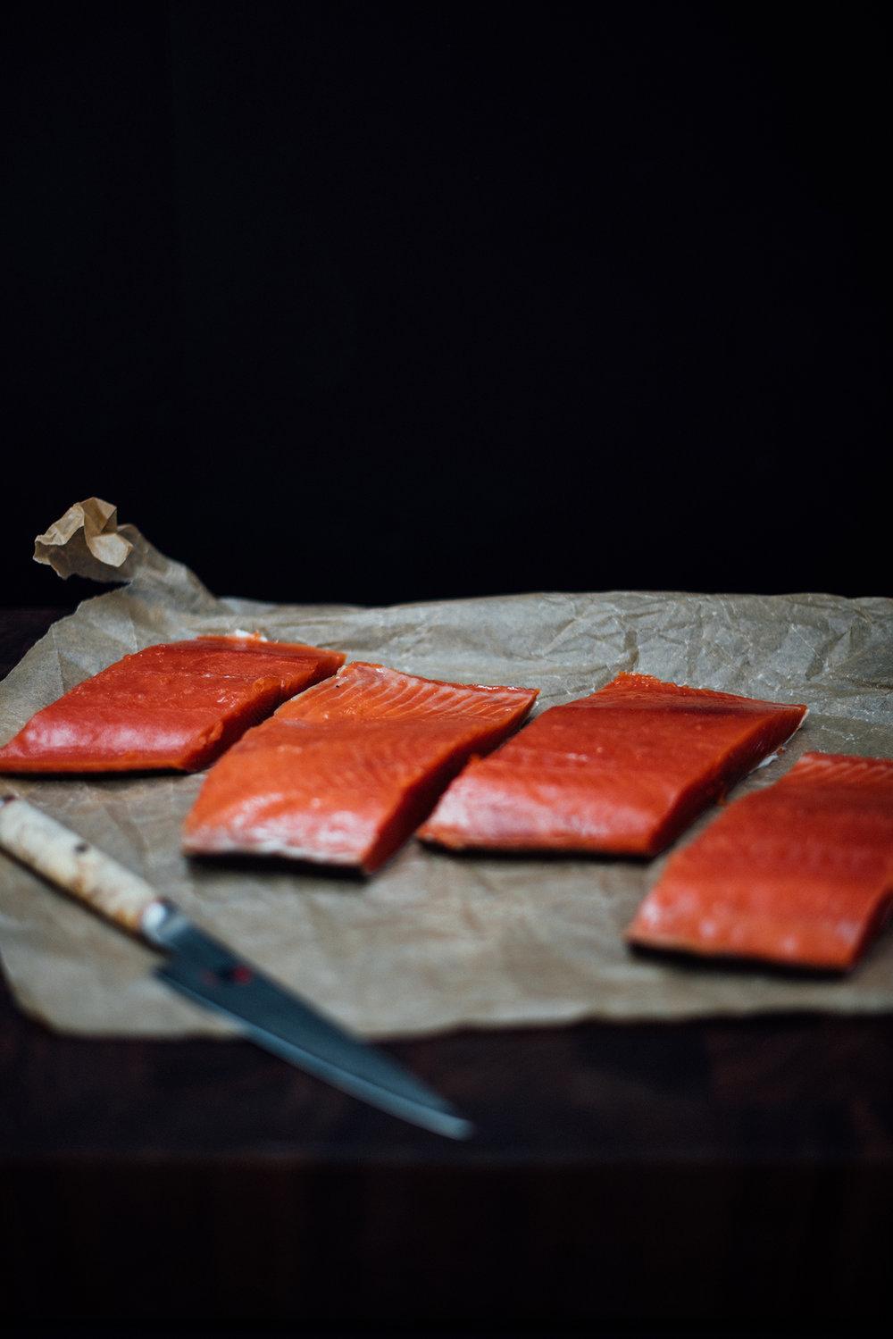dukkah seasoned salmon| Nik Sharma