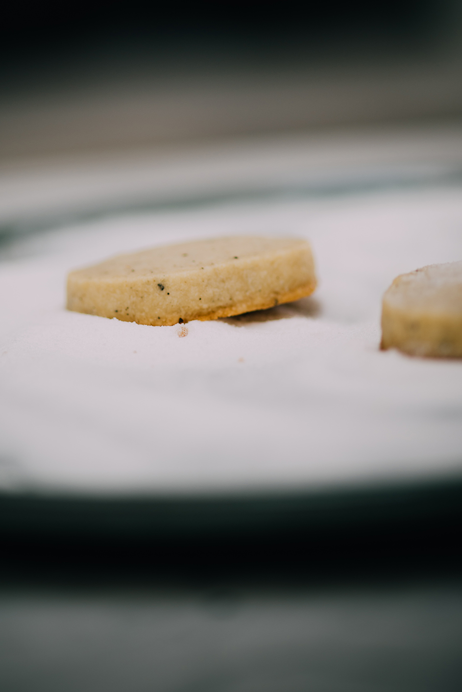 long pepper and vanilla shortbread from Claridges| Nik Sharma