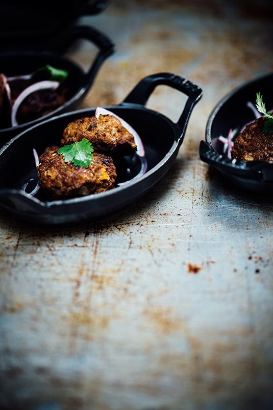 spiced beef kebabs - Season Cookbook (Chronicle Books Oct 2018) Nik Sharma