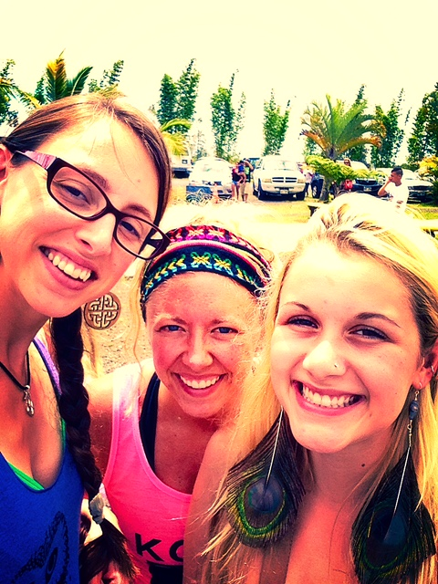 Me, Krystle, Katrina - Yoga Soul Sisters