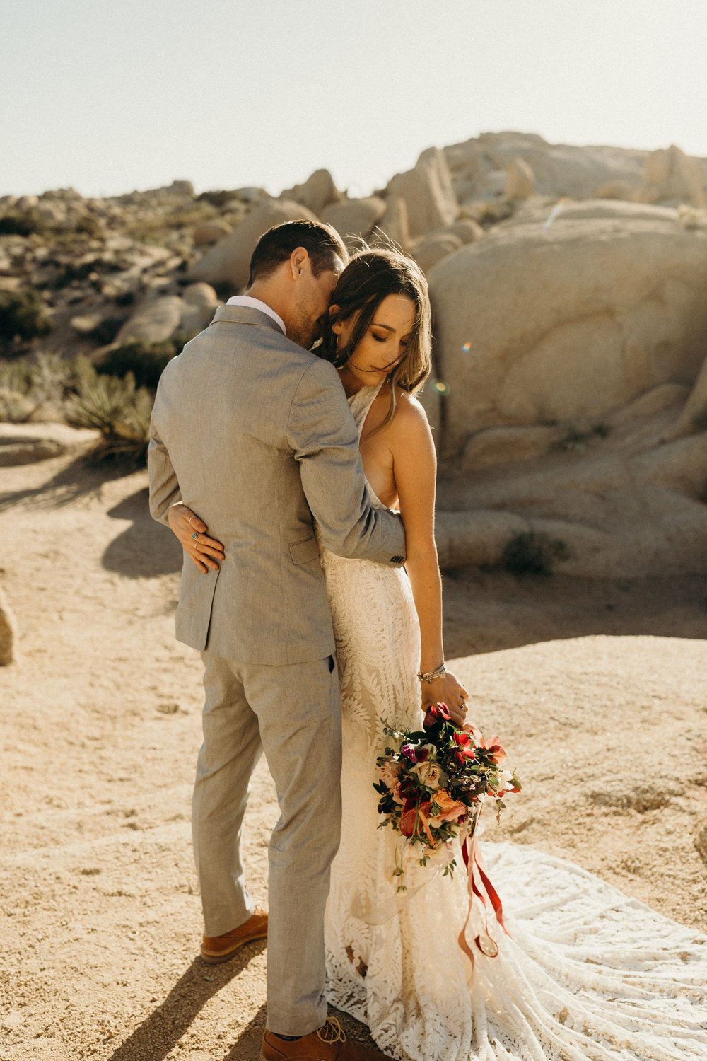 My husband and I were lucky enough to have Warren shoot our Joshua Tree Elopement in CA! I cannot recommend his services enough! Not only is he talented, but he is personable and made us feel comfortable in front of the camera.. which is huge. His editing style is beautiful and totally fit in with our personal style. Our family and friends were blown away with our photos as well (and maybe a bit jealous) and said they could literally FEEL the love. It made our family across the country feel like they were part of our special day too. We look at our photos everyday and will continue to cherish them forever. Thanks again, Warren! - Jen & Devin