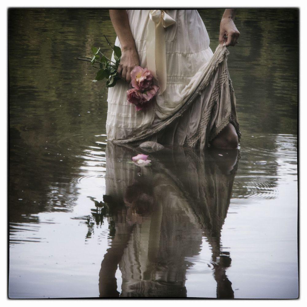 White Dress from Ladies of the Lake Portfolio