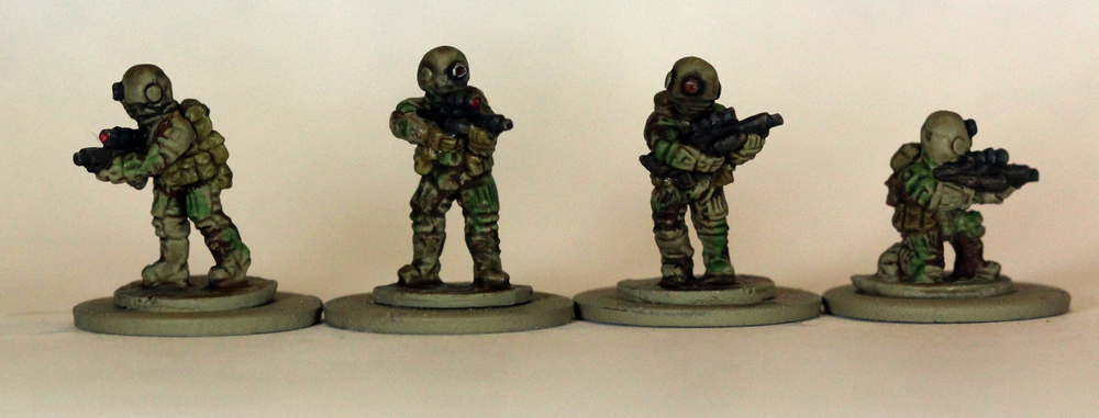 Brazilian Riflemen - Painted