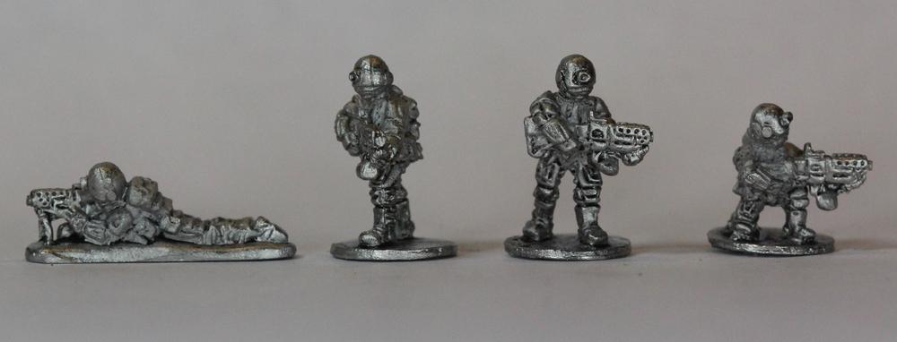 Brazilian SAW Gunners - Inked