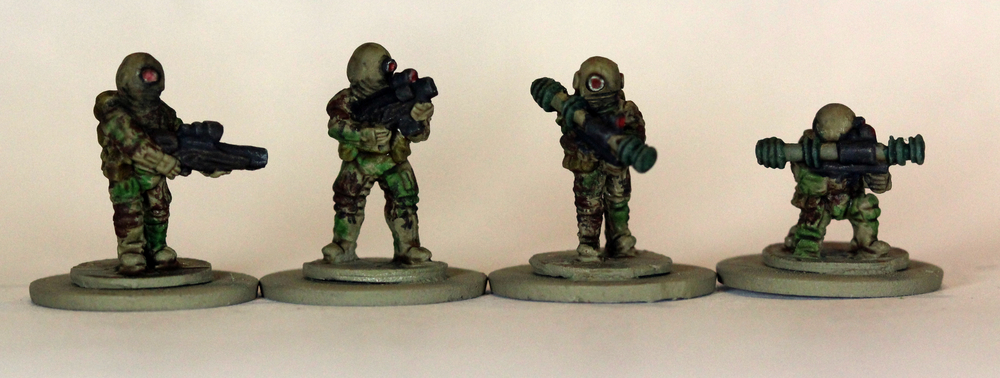 Brazilian Support Weapons - Painted