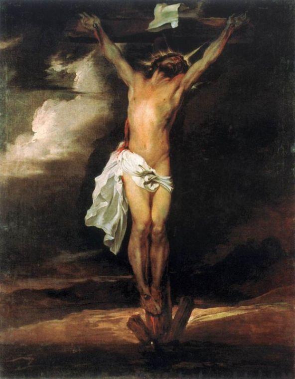 Crucifixion,Antony van Dyck, 1622