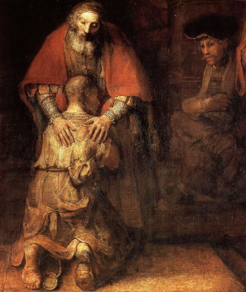 Prodigal Son, 1669, Rembrandt