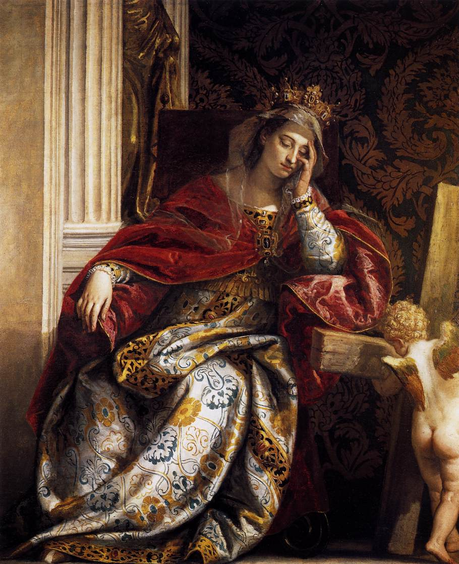 The Vision of Saint Helena, Paolo Veronese, 1580