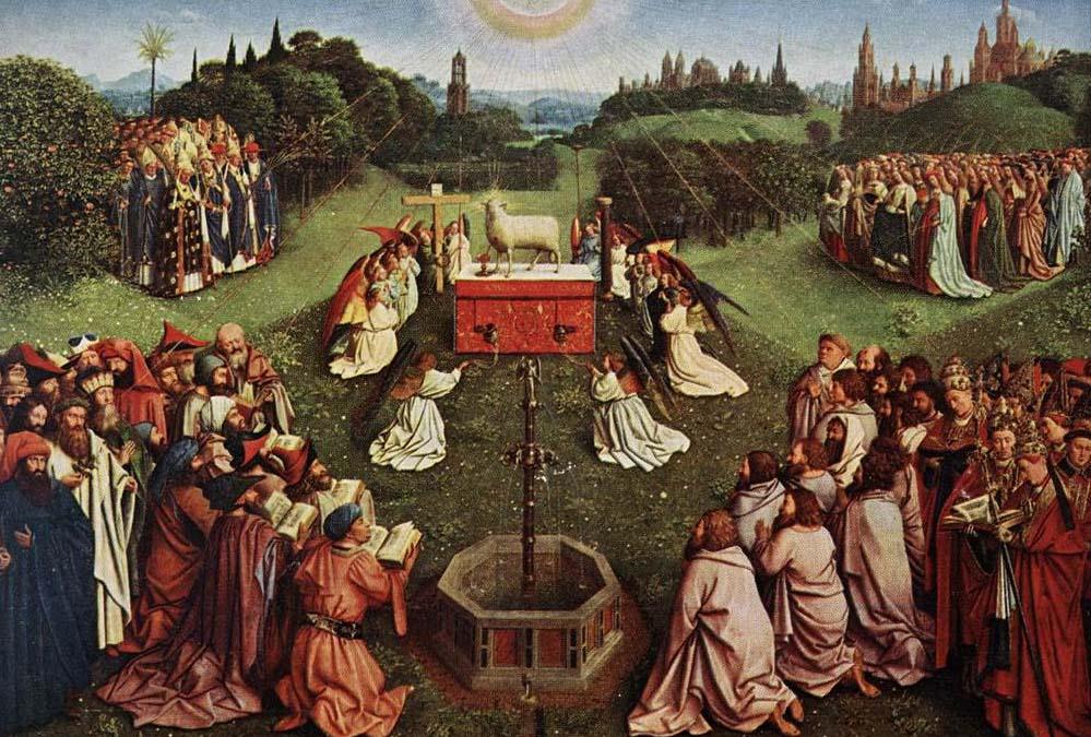 Ghent Altarpiece, Hubert and Jan Van Eyck, 1432