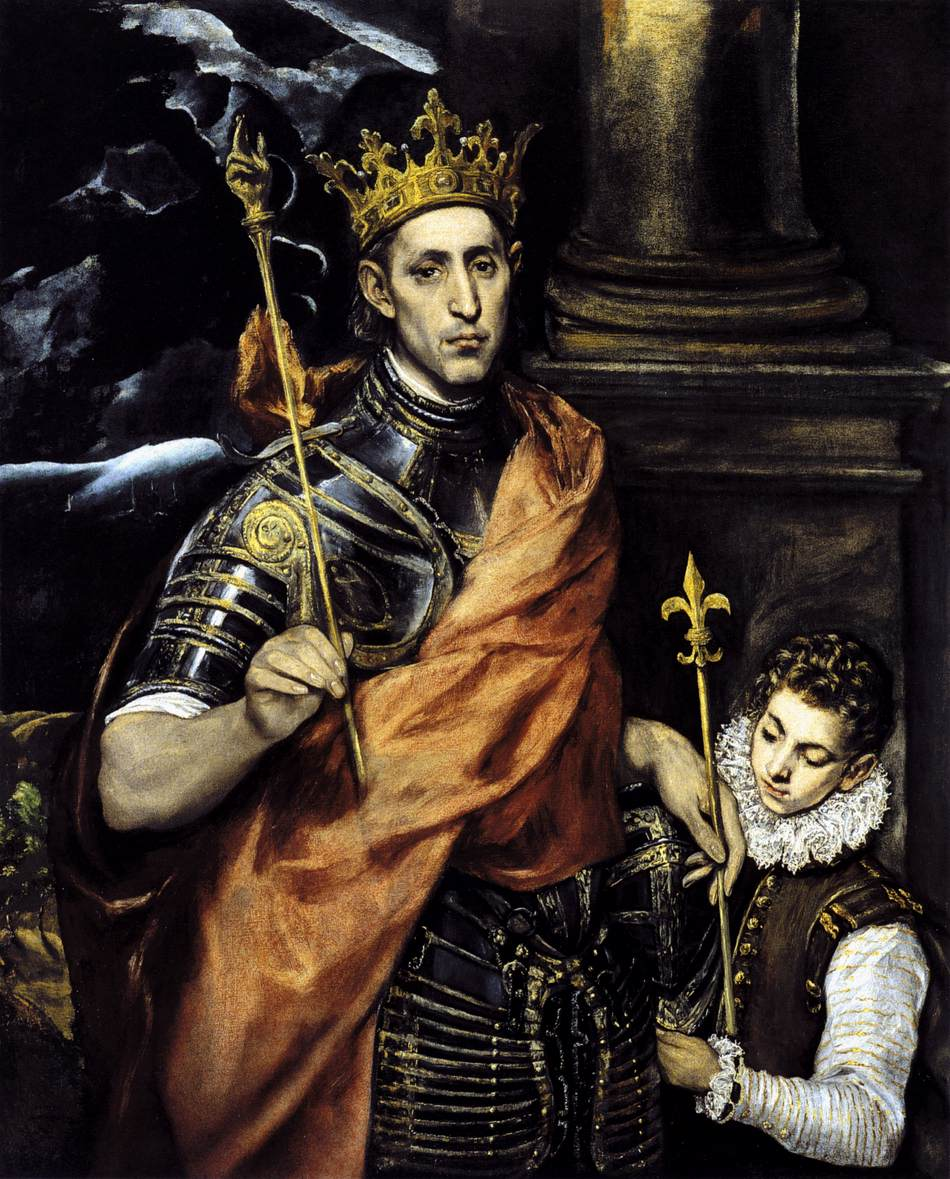 King Louis IX, El Greco, 1585
