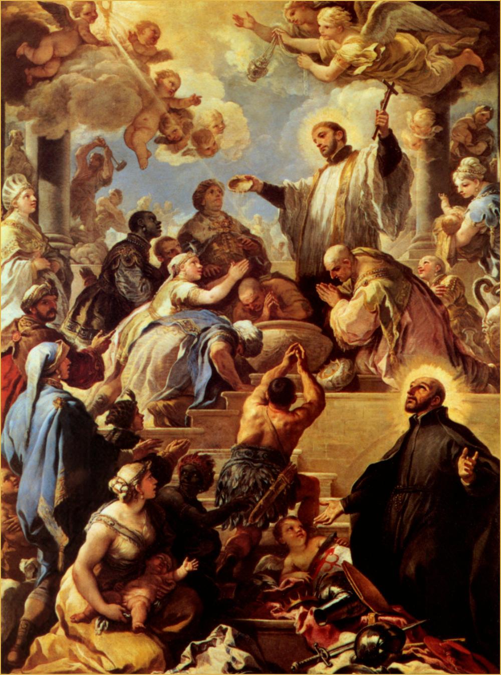Saint Francis Xavier Baptizing, Rubens.