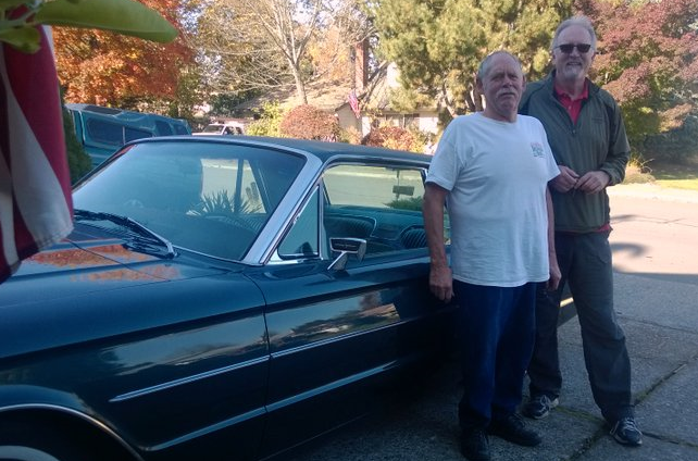 The 66 year old's and the   1966 T-Bird