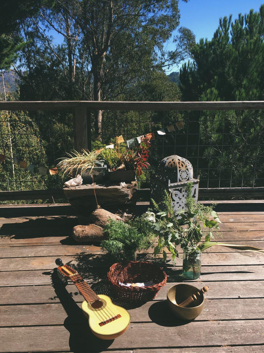 Outdoor Altar