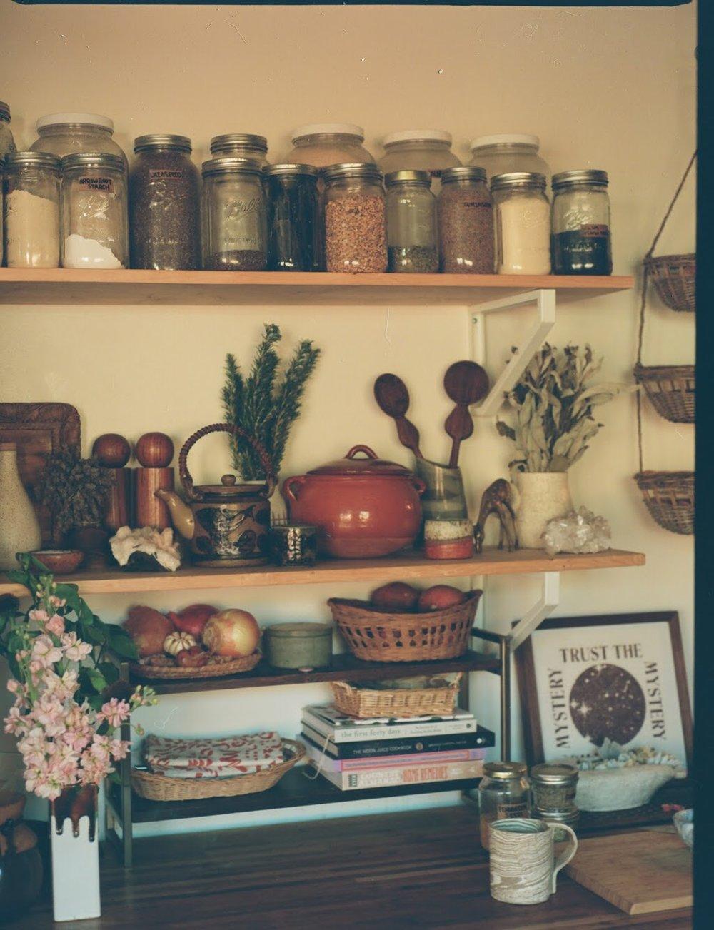 Photo of my kitchen by Sam Stenson on 120mm film.