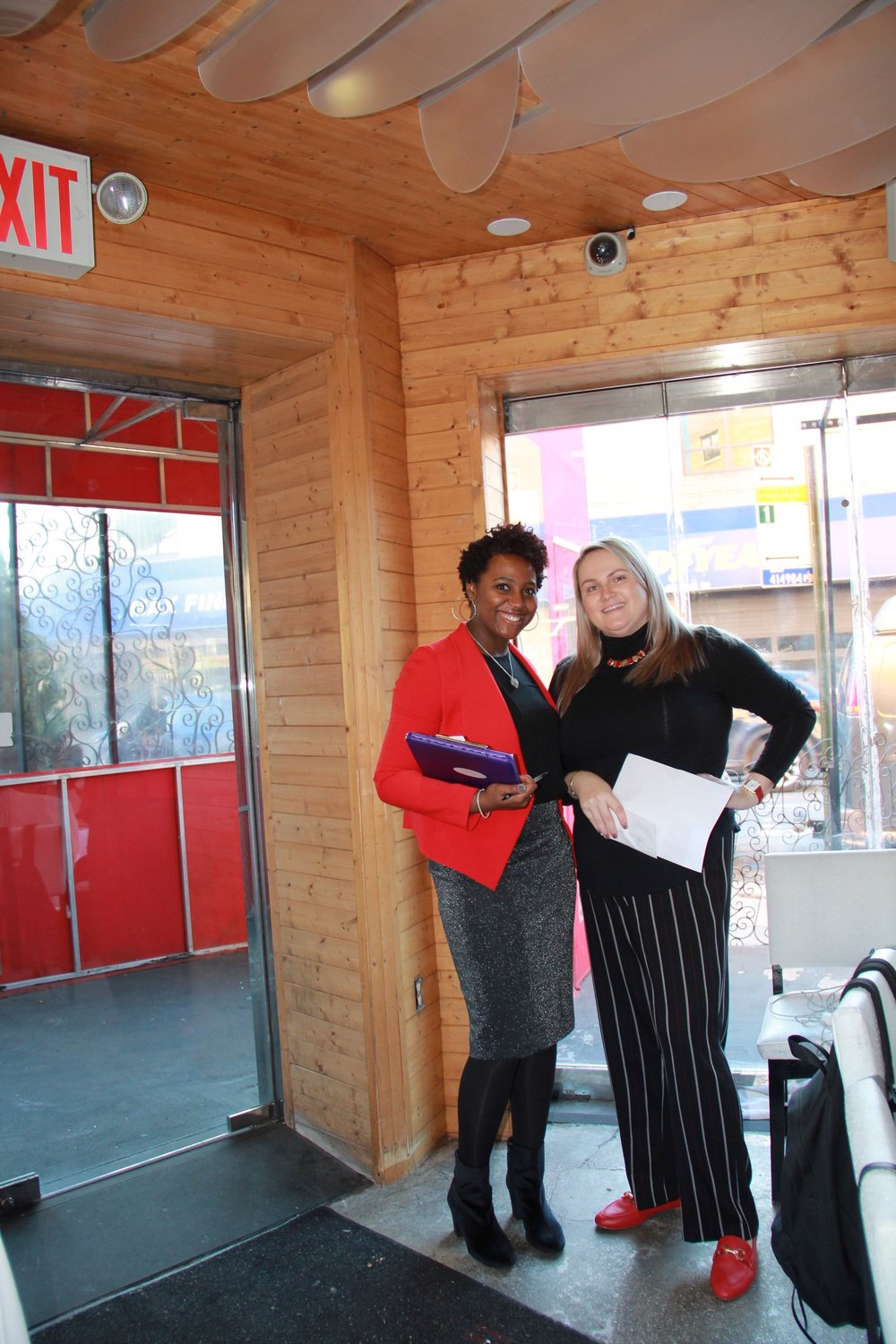 Owner Raquel and one of our amazing Interns- Katherine