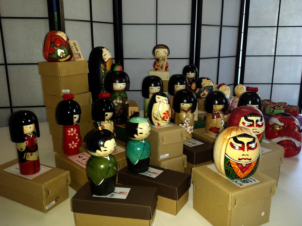 Kokeshi e artigianato giapponese
