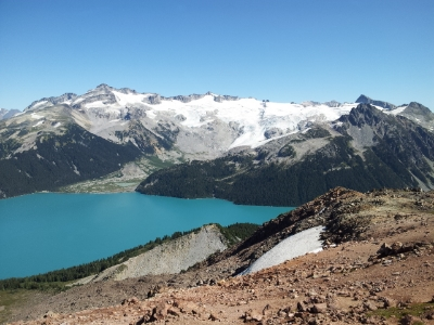 Garibaldi Lake from Mt. Price