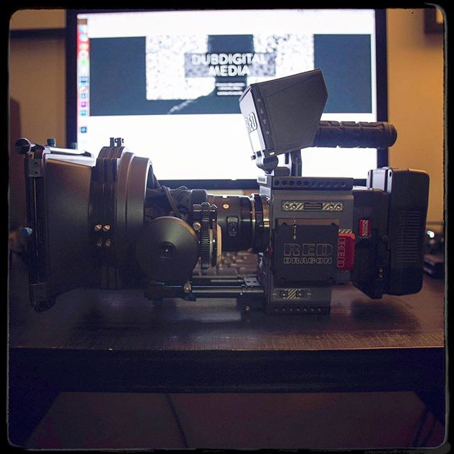 Tools of the trade. #red #scarletw #camera #cinematography #cinematographer #film #filmmaker #cameraporn #reddigitalcinema #shotonred #imac #5k #smallbiz #entrepreneur #toronto #ontario #canada #dubdigital #hustle