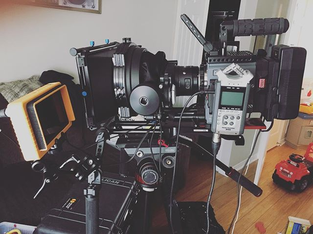 Testing various builds and timing for max efficiency. Love this @zacuto VCT base plate though I tell you what! #red #reddigitalcinema #scarletw #cinema #camera #cinematography #cameraporn #filmmaker #film #test #canada