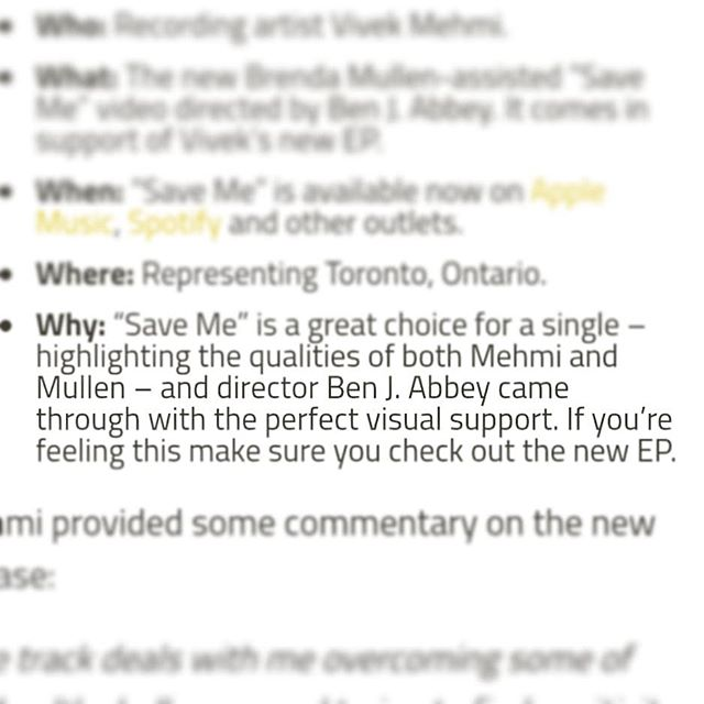 Big up to @hiphopcanada for the kind words. Get at me if you want to make a music video! #vivekmehmi #saveme #brendamullen #toronto #canada #hiphop #cinema #cinematographer #cinematography #canon #sigmaart #music #musicvideo #c300markii #ronin #readyrig #rap #canada #love