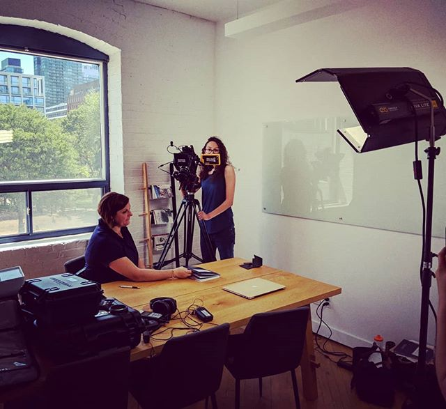 On a recent shoot with @shelaghcummins I had the chance to use my newly-acquired Tilta Nucleus-M. A wonderful piece of gear. A wonderful client too! @jacquelinedibacco on the cam op tip and @emilyborhi assisting like a boss. #cinematographer #commercial #kickstarter #cinematography #dp #dop #consulting #hustle #entrepreneur #powermoves  #red #scarletw #filmmaking #film #filmmaker #toronto #canada #zacuto #zeiss #duclos #fun #setlife