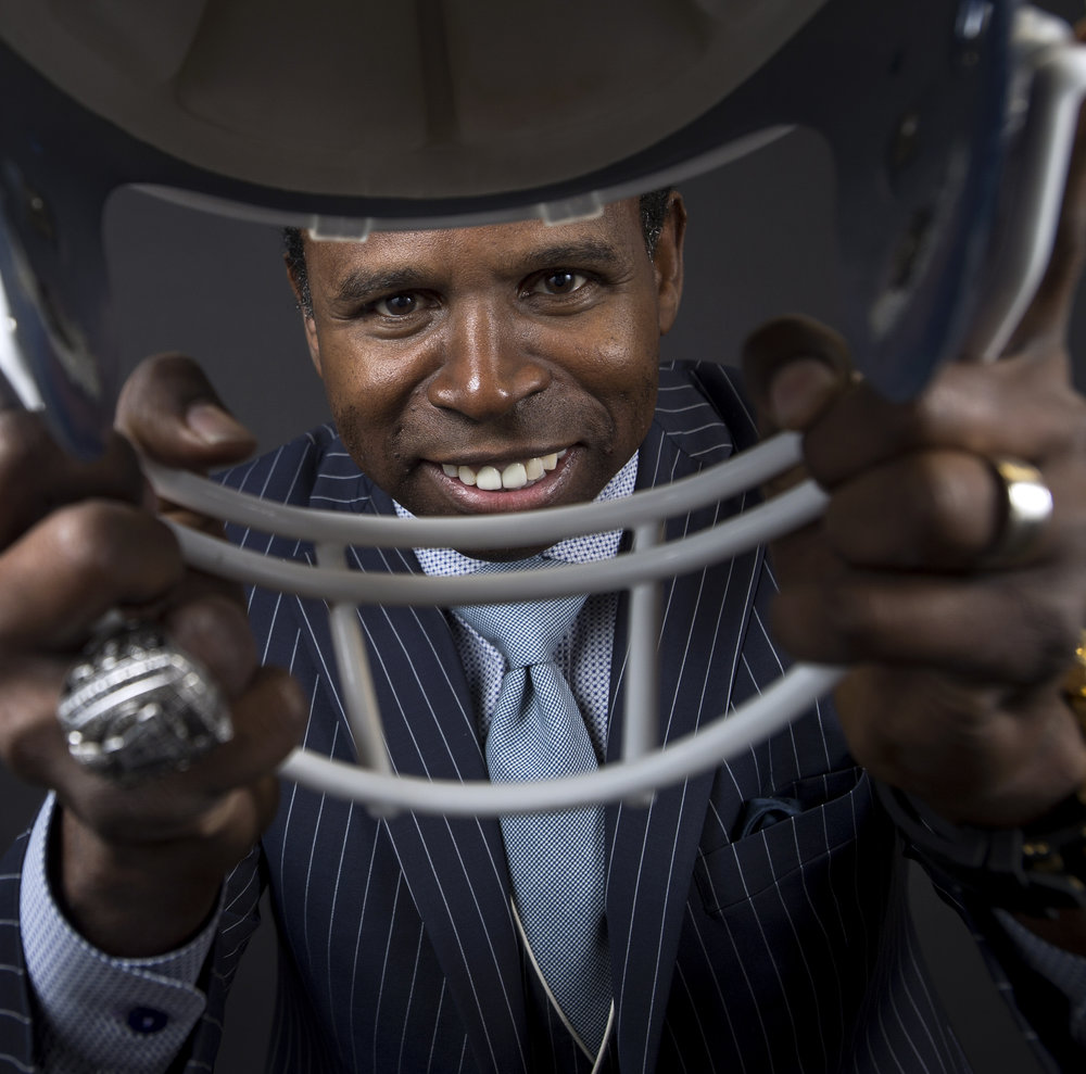 "Michael ""Pinball"" Clemons is a former Toronto Argonauts super star. Now that he has retired from the CFL, he runs the Michael Pinball Clemons Foundation. This foundation helps underprivileged youth succeed in life."