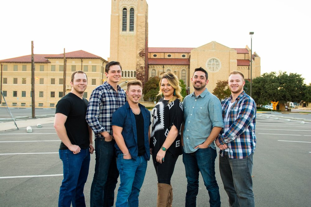 (l-r) Scott Dawson (bass), Caleb Neal (acoustic/vocals), Jonny Hughes (worship leader/keyboards), Karleigh Porterfield (vocals), Brian Maines (drums/vocals), Adam Urbanczyk (electric guitar)