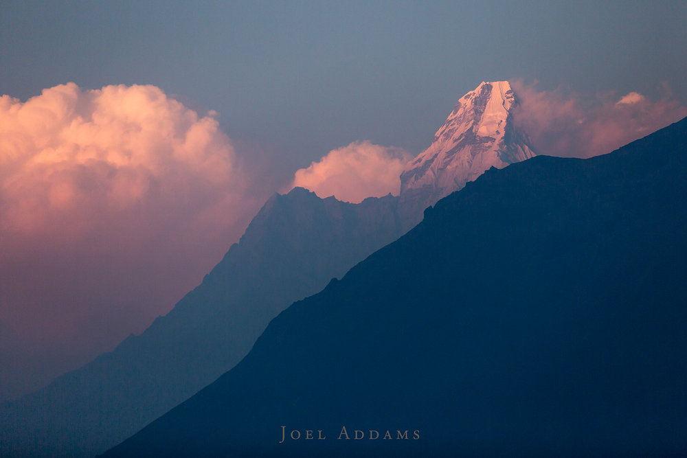 Ama Dablam at Sunset by Joel Addams