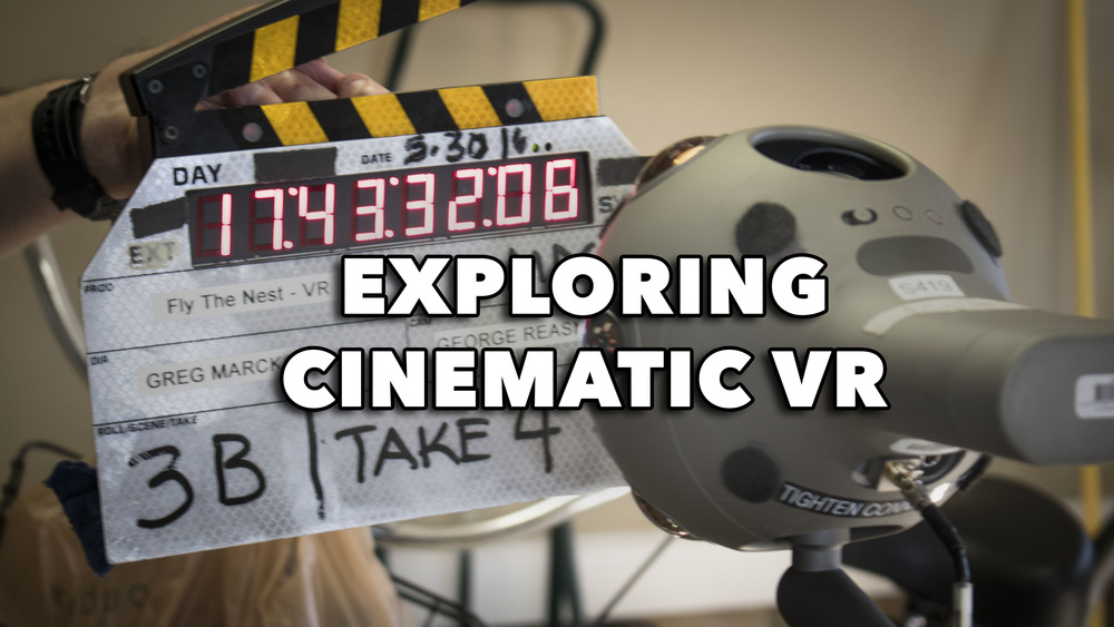 Exploring Cinematic VR: An Analysis of the Tools, Processes, and Storytelling Techniques of Virtual Reality Filmmaking  | Bachelors Honors in the Major Thesis Project at FSU
