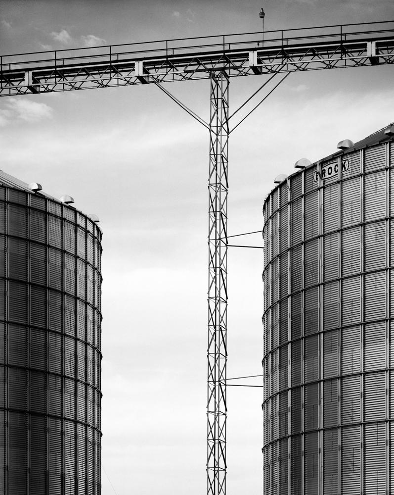 Grain Silos. Colorado.