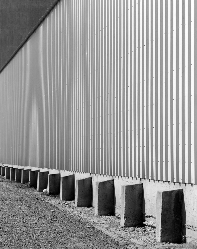 Corrugated wall. Greeley, CO.