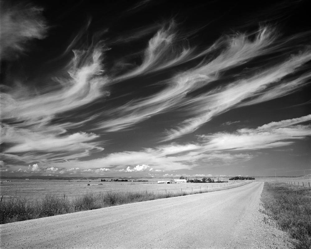 Some sweet Cirrus clouds over Carr, Colorado.