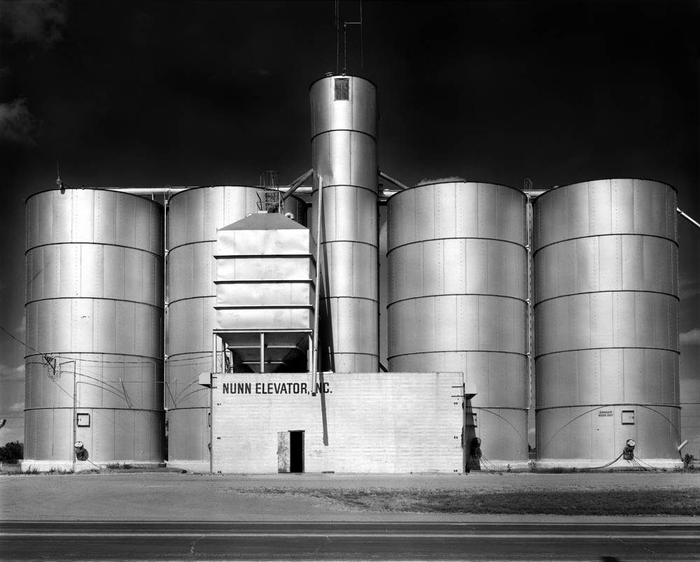 Grain elevator, Nunn, Colorado.