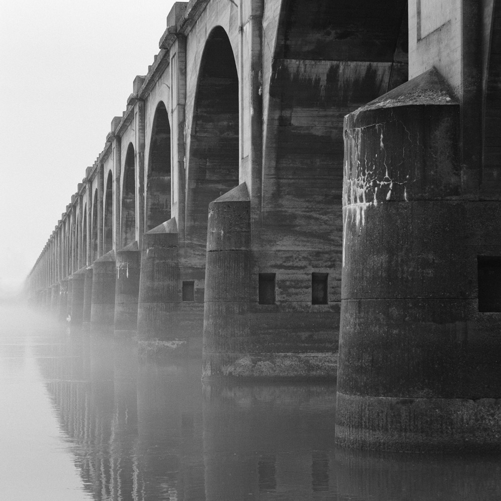 Bridge. Harrisburg, PA. November, 2013.