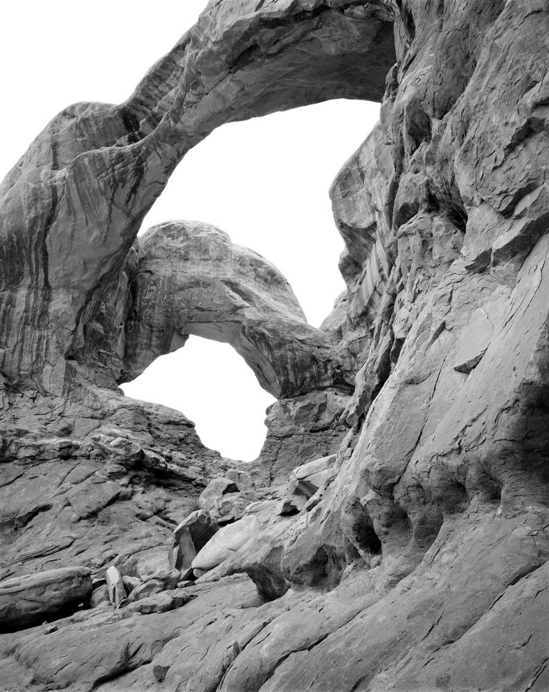 Double Arch. Arches National Park, UT.
