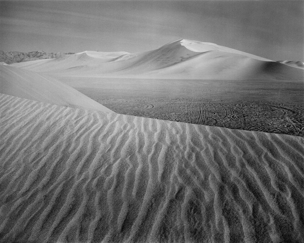 Dusk. Dumont Dunes, CA.