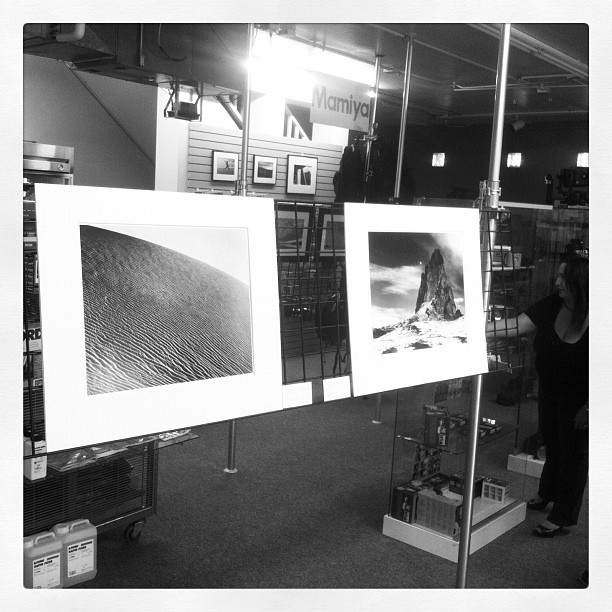 I've got two prints showing at Victory Camera in Lafayette, CO. Stoked! Thanks to Josh Cohen. Victory is the legittest camera store out there… (Taken with  instagram )