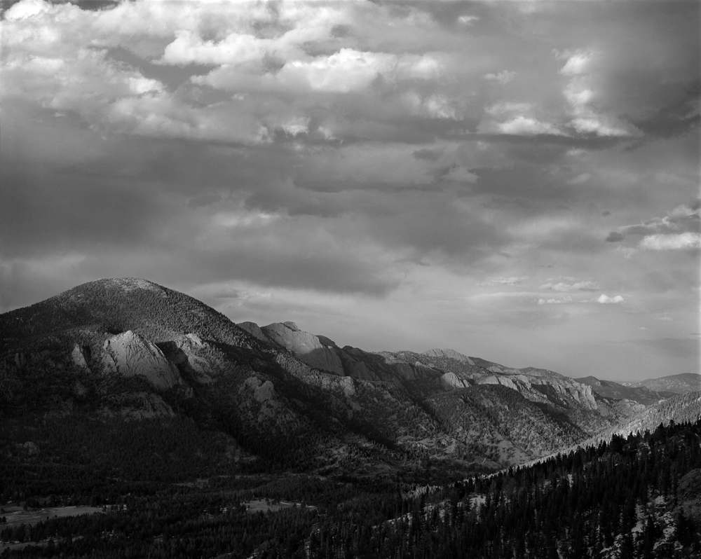 Many Parks Lookout, Rocky Mountain National Park, Colorado.