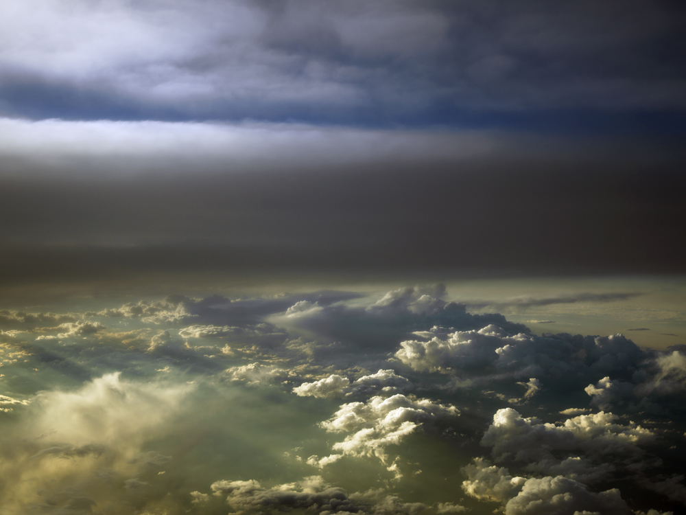 Midwest skies.
