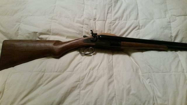 Cimarron 12 gauge double Hammer Stagecoach shotgun