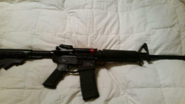 Smith & Wesson mp 15 5.56 caliber