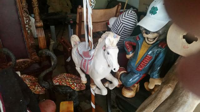 Beautiful ceramic Carousel Horse