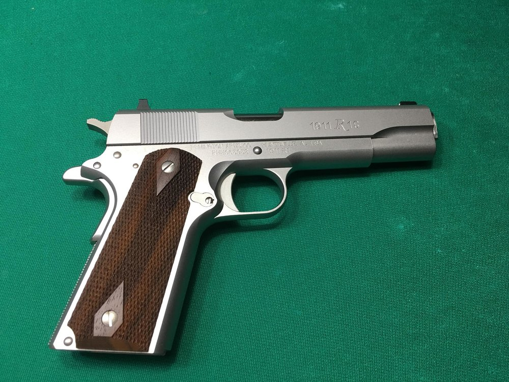 Remington 1911 Frame 45 Caliber Stainless
